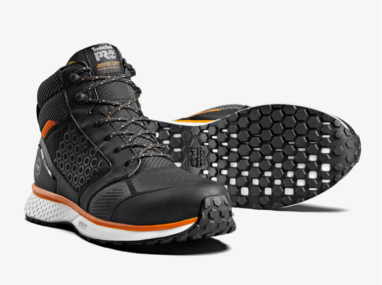 Timberland PRO® Timberland PRO® Reaxion Mid Black-Orange S3