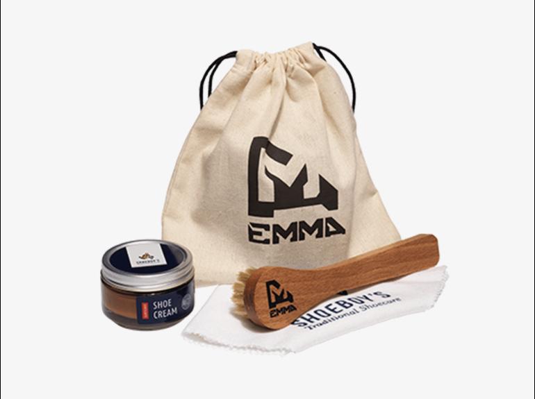 Emma Emma Schoenpoetsset Cognac