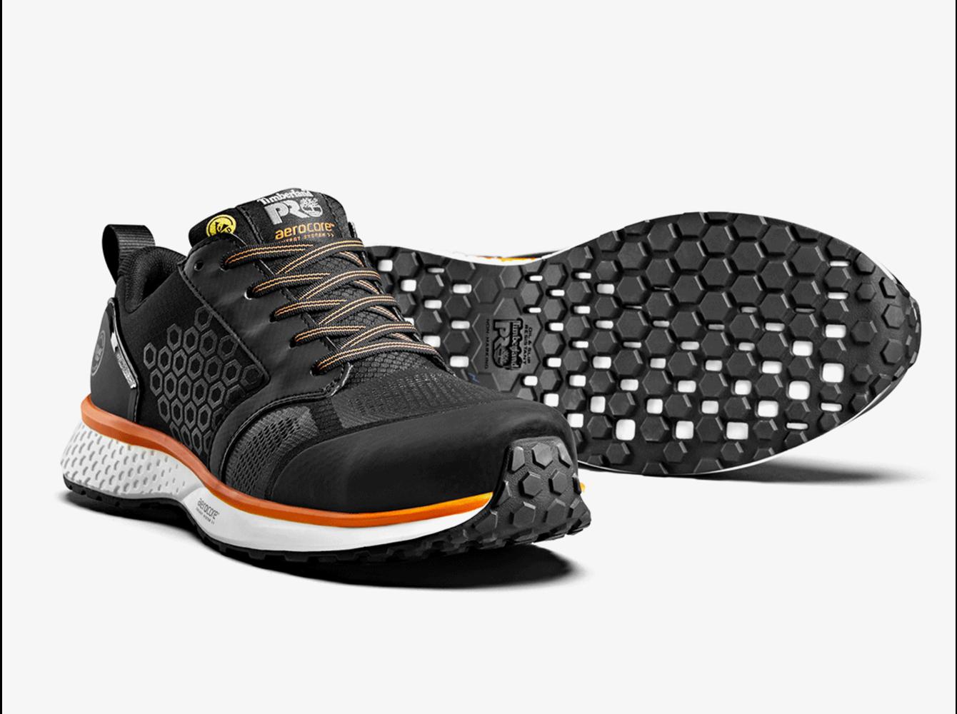 Timberland PRO® Reaxion Trainer Black-Orange S3