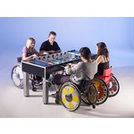 Garlando Voetbaltafel Garlando Special Champion voor rolstoel gebruikers