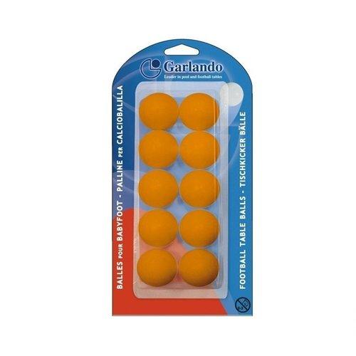 Garlando Tafelvoetballetjes 33 mm - oranje Garlando