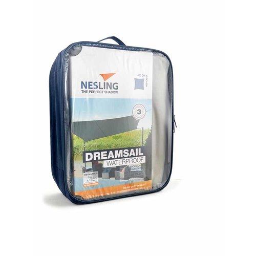 Dreamsail Nesling waterdicht schaduwdoek vierkant 400 cm Dreamsail