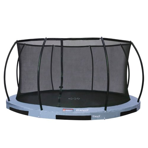 Hi-Flyer Trampoline Etan Hi-Flyer inground rond incl. net