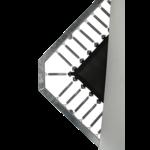 Proline Trampoline Proline rechthoek incl. net en trap