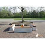 Buitenplezier-online Beton bank standaard Deluxe