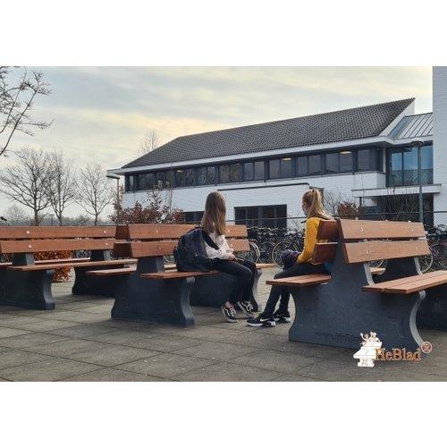 Buitenplezier-online Park bank beton duo