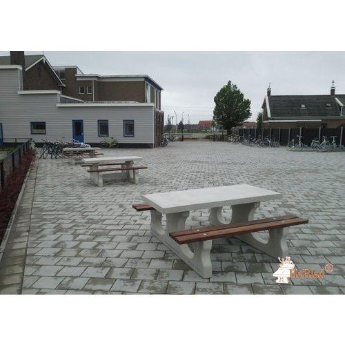 Buitenplezier-online Picknicktafel beton Deluxe