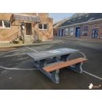 Buitenplezier-online Multi- spellen picknicktafel beton antraciet
