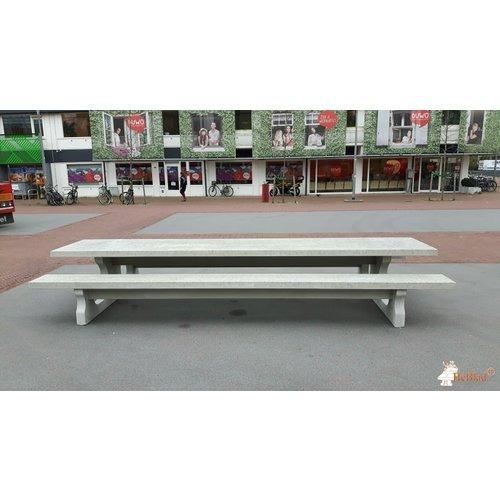 Buitenplezier-online Betonnen picknicktafel XL