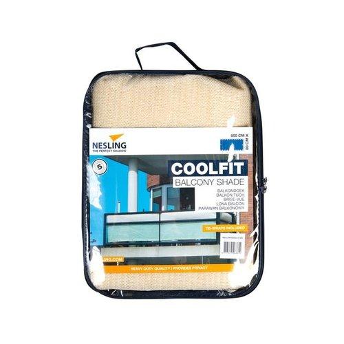 Coolfit Balkondoek 80 x 500 cm gebroken wit Coolfit