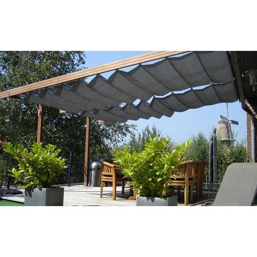 NC Outdoor Harmonicadoek NC Outdoor 290 x 400 cm antraciet