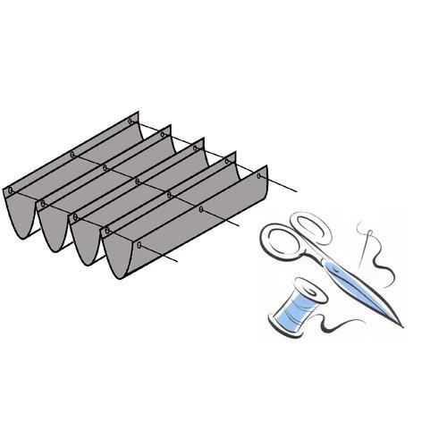 Buitenplezier-online Lengte harmonicadoek inkorten