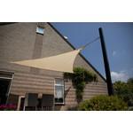 NC Outdoor Schaduwdoek NC outdoor Driehoek 500 cm gebroken wit