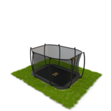 Rechthoekige inground trampolines met veiligheidsnet