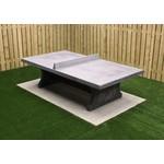 Buitenplezier-online Betonnen tafeltennistafel rechte hoeken