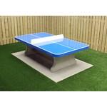 Buitenplezier-online Betonnen tafeltennistafel afgerond