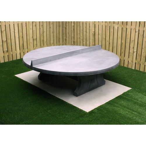 Buitenplezier-online Betonnen tafeltennistafel rond