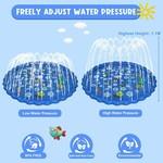 JD Outdoor Watermat Alfabet met sproeier