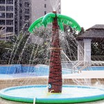 JD Outdoor Watermat Palmboom met sproeier