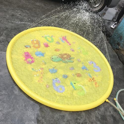 JD Outdoor Watermat Numbers met sproeier