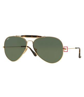 Ray-Ban Ray-Ban schroeven