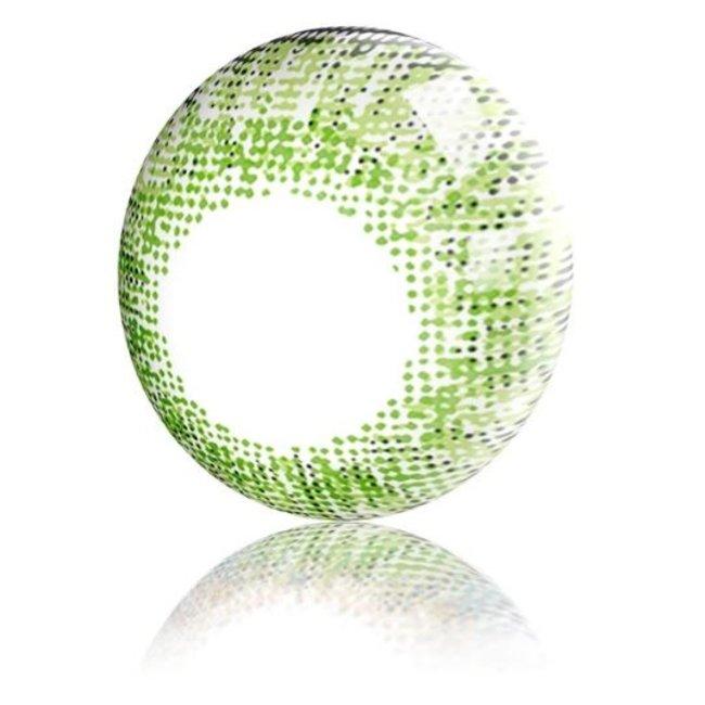FreshGo 3-Tone Gemstone Green natuurlijke verandering