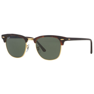 Ray-Ban Ray-Ban Clubmaster RB3016 W0366 Mock Tortoise/Arista