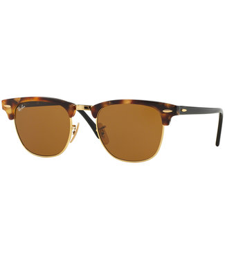 Ray-Ban Ray-Ban Clubmaster RB3016 1160 Spotted Brown Havana