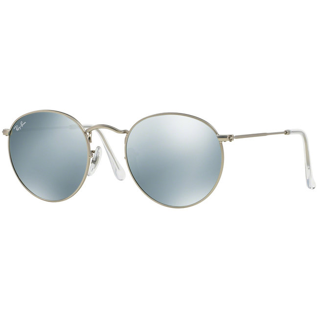 Ray-Ban Ray-Ban Round Metal RB3447 019/30 Matte Silver