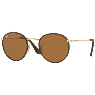 Ray-Ban Ray-Ban Round Craft RB3475Q 9041 Leather Brown