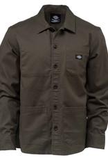 Dickies Caprock Long Sleeve overshirt Dark olive