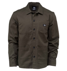 Dickies Caprock Long Sleeve overshirt Dark olive
