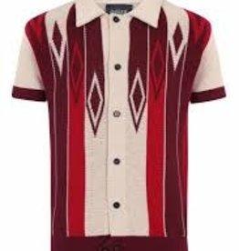 Collectif Luca Diamond short sleeved cardigan