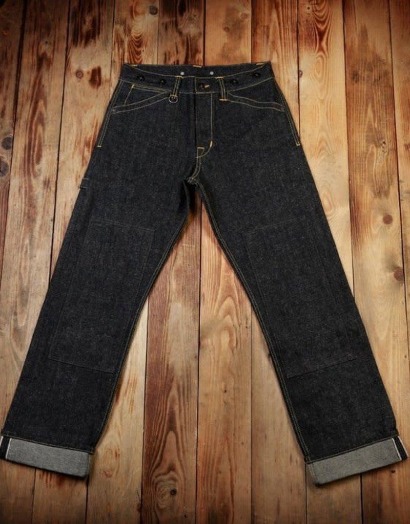 Pike Brothers Superior Garment 1908 Miner Pant 14 Oz Hemp denim