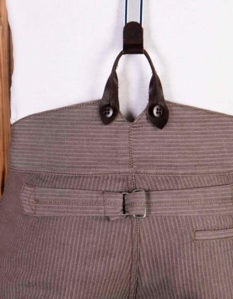 Pike Brothers Superior Garment 1905 Hauler pant Herringbone Twill Brown
