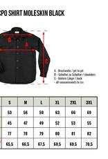Pike Brothers Superior Garment 1943 CPO shirt  Moleskin Black