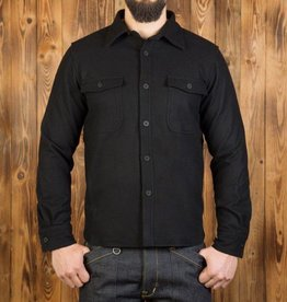 Pike Brothers Superior Garment 1943 CPO shirt  Moleskin Black
