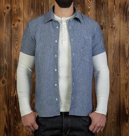 Pike Brothers Superior Garment 1937 Denim Roamer shirt short sleeve
