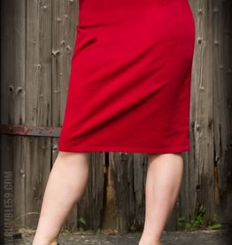 Rumble59 Perfect Pencil skirt Red