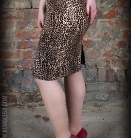 Rumble59 Pencil skirt leopard
