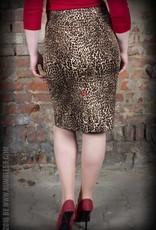 Rumble59 Pencil skirt leopard