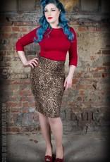 Rumble59 Penicil skirt leopard
