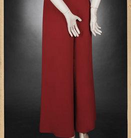 1930 Crepe pant Boardwalk Bonnie red