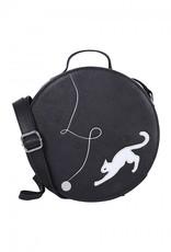 Collectif Sally Kitty Cat Cross Body Bag