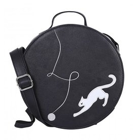 Collectif Sally Kitty Cat Cross Body Bag