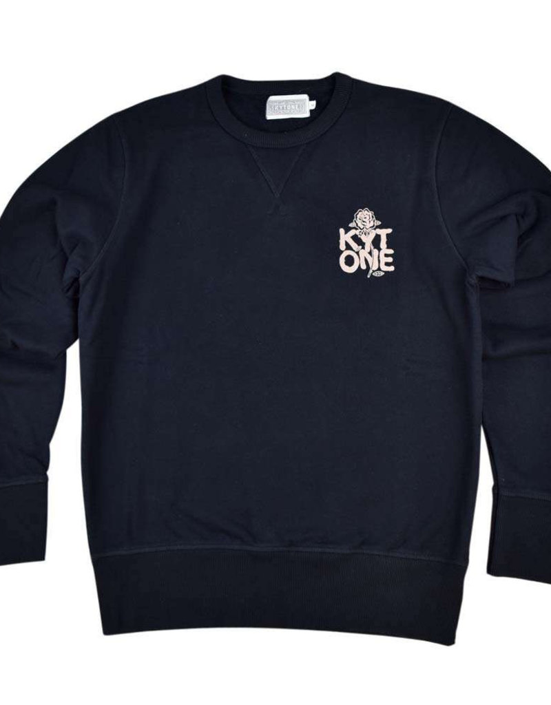 Kytone Sweatshirt Spiked Black