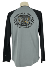 Kytone T-shirt Storm long sleeve Grey