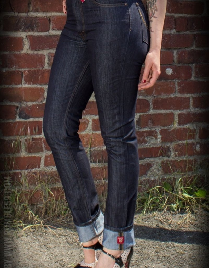 Rumble59 Blue denim Mailyn's Curves