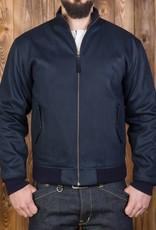 Pike Brothers Superior Garment 1957 Zip Jacket Elephant Skin Petrol