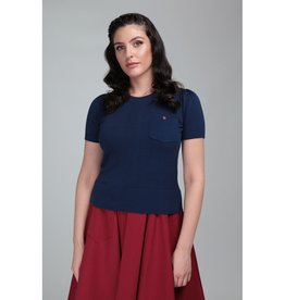 Collectif Davina Plain Knitted Top